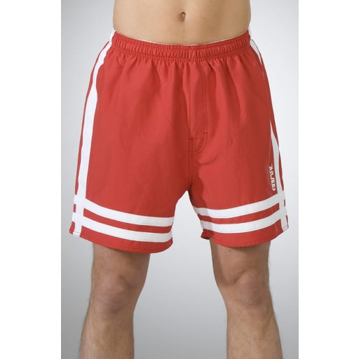 Animal Panther shorts in Mars Red