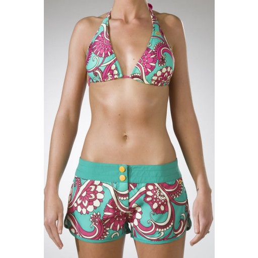 Billabong Laelia BS Shorts In Seagrass