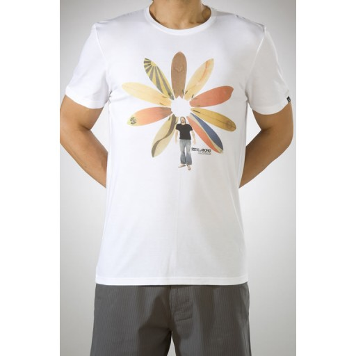 Billabong Suround t shirt in White