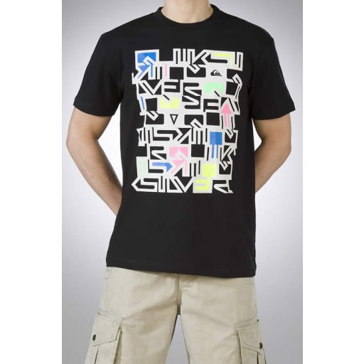 Quik Bleeker Tee In Black