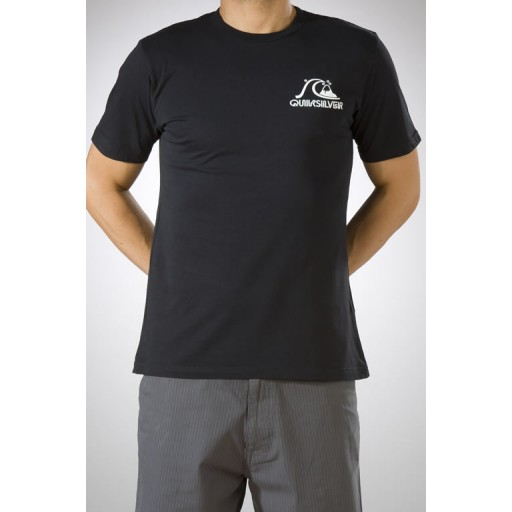 Quiksilver Backyard t shirt In Black