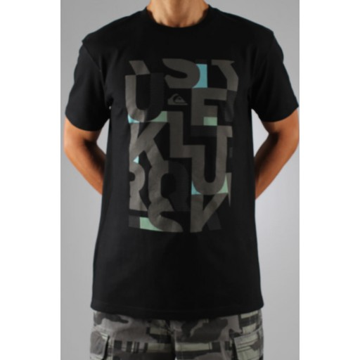 Quiksilver Snapper t shirt (Black)