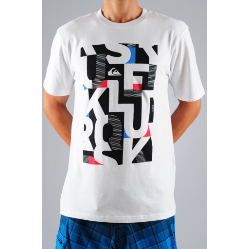 Quiksilver Snapper t shirt (White)
