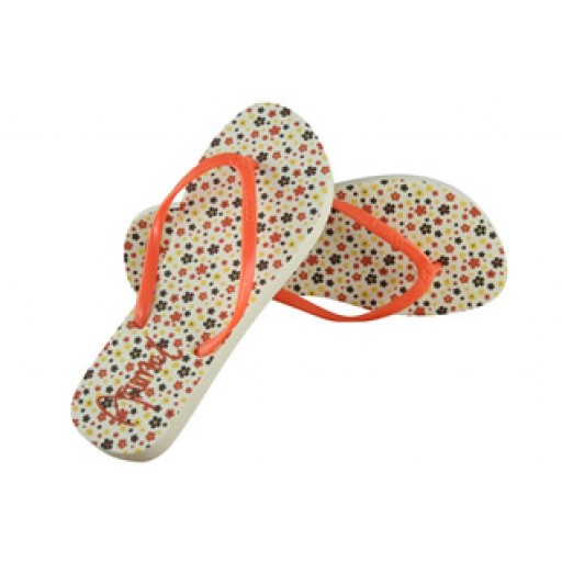 Animal Star Flip Flops In Flamingo