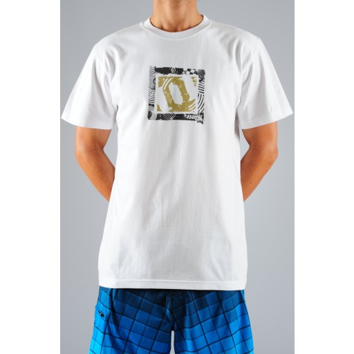 Animal Freeride T Shirt In White