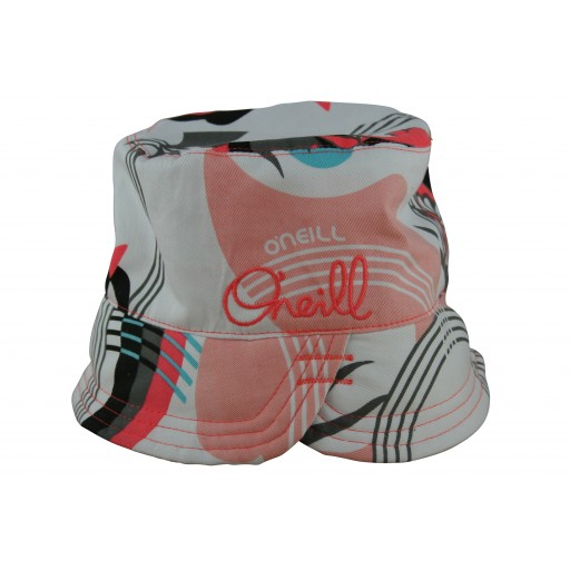 O'Neill White Ladies Reversible Hat