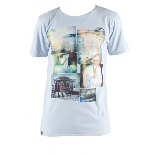 O'Neill Timeline Mens T Shirt In Blue Front