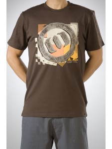 Animal Bail Mens t shirt In Demitasse Brown