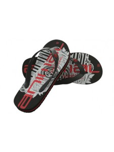 Animal Costaz Flip Flops (Black)