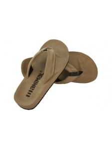 Animal Hyde Flip Flops (Tobacco)