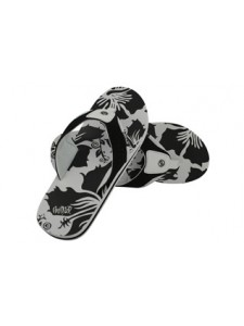 Animal Jekyl AOP Flip Flops (Black/White)