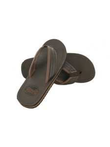 Animal Jekyl Bro Flip Flops (Brown)