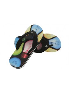 Animal Jekyl Flip Flops (Multi)