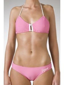 Animal Porter Halter Bikini in Pink