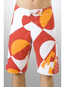 Billabong Eclipse Board Shorts in Orange