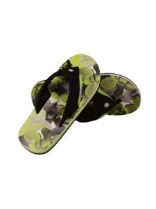 Animal Jekyl Men's Flip Flops (Green)