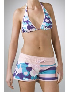Animal Ferry Womens Shorts in Pink Lady