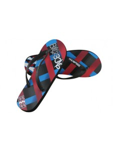 Billabong Intervention Flip Flops in purple