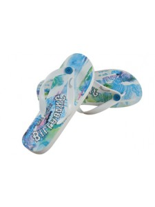 Billabong Lianne Flip Flop In Blue