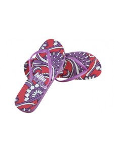 Billabong Lyza Flip Flop In Hibiscous