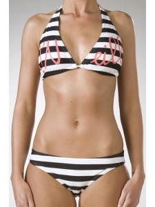 O'Neill D Cup Hip Fit Bikini (Black)