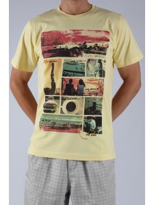 O'Neill Santa Cruz t shirt (Yellow)