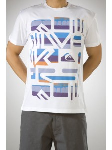 Quiksilver Bleeker T Shirt in White