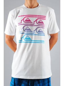 Quiksilver Line Up t shirt (White)