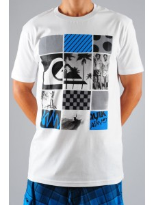 Quiksilver Not Too Late t shirt (White)