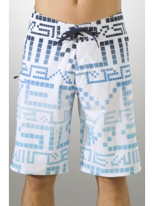 Quiksilver Pixelator Mens shorts in white