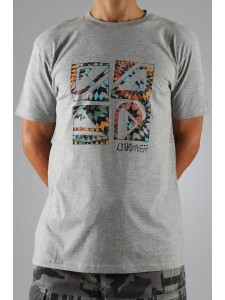 Quiksilver Warrior t shirt (Grey)