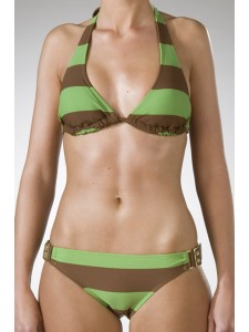Roxy Ipanema Hula Bikini In Coffe