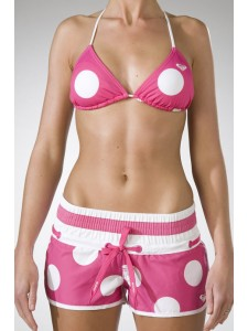Spot On BS Shorts In Pink