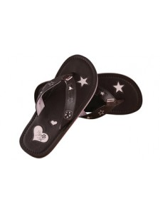 Animal Swish Sister Flip Flops In Bracken