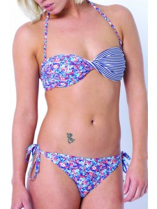 Animal Insley Peach Bikini