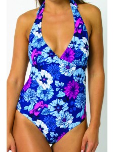 Animal Irissa Twighlight Blue Swimsuit