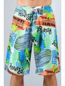 Animal Theodore Board Shorts Front