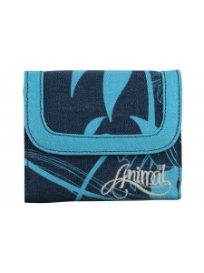 Animal Barb Wallet Blue