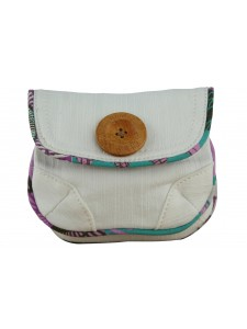 Animal Cuda White Ladies Purse
