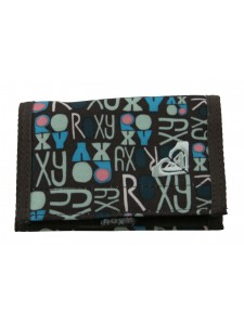 Roxy Logo Wallet chocolate