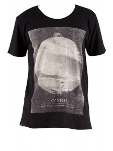 O'Neill Morning Session Men's T Shirt Black Front