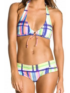 Roxy Sun Tidal Waves Halter