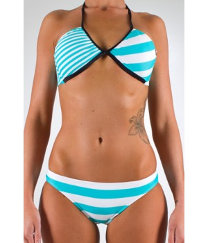 Roxy Hot Chip Rio Bikini (Blue)