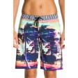 Roxy Sunset Stripe Black Shorts